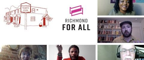 Ask an Organizer Q&A: Panel with the Richmond Tenants Union