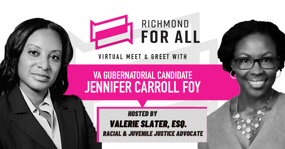 Meet and Greet with Jennifer Carroll Foy