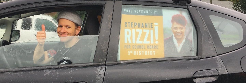 Car Caravan for Stephanie Rizzi