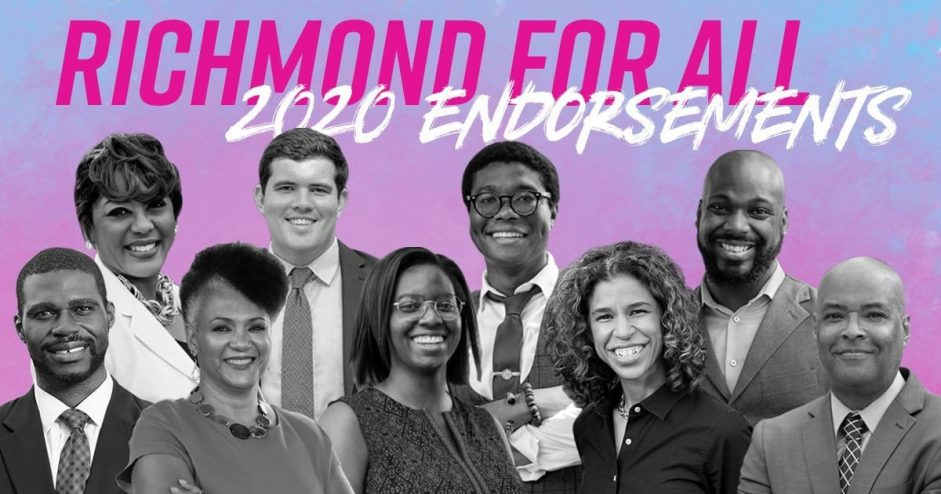 Richmond For All Candidates Believe…