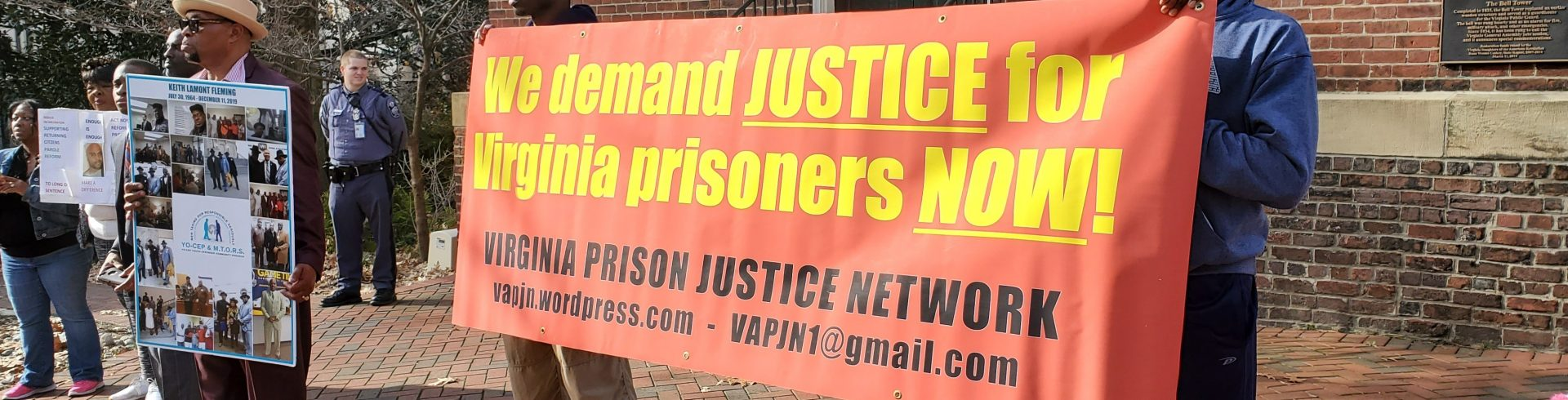 Virginia Prison Justice Network Car Caravan